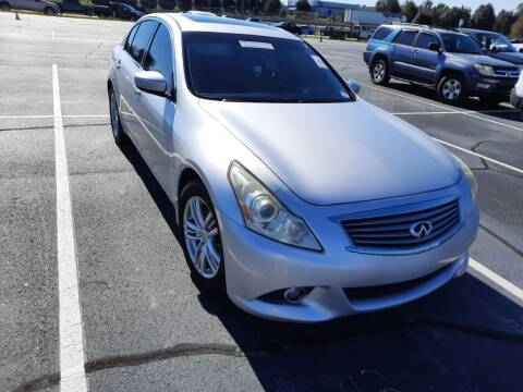 2010 Infiniti G37 Sedan for sale at IDEAL IMPORTS WEST in Rock Hill SC