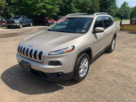 2015 Jeep Cherokee for sale at Winner's Circle Auto Sales in Tilton NH