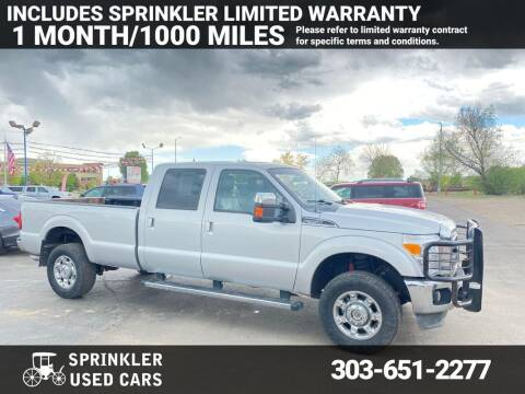 2013 Ford F-350 Super Duty for sale at Sprinkler Used Cars in Longmont CO