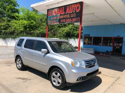 2013 Honda Pilot for sale at Global Auto Sales and Service in Nashville TN