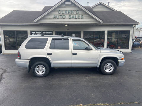 1998 Dodge Durango for sale at Clarks Auto Sales in Middletown OH