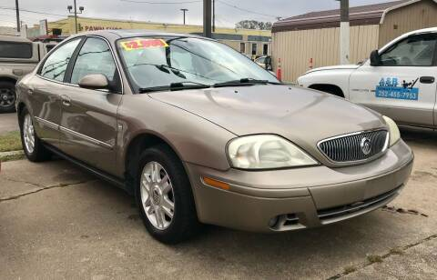 2004 Mercury Sable for sale at Steve's Auto Sales in Norfolk VA
