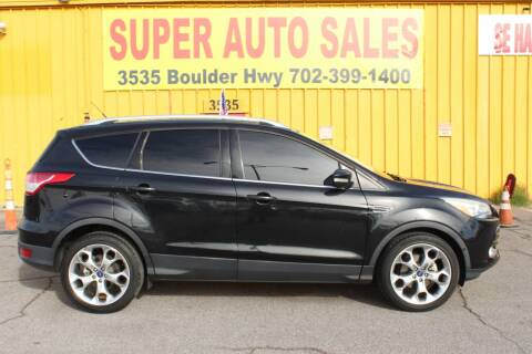 2015 Ford Escape for sale at Super Auto Sales in Las Vegas NV