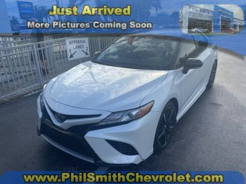 2019 Toyota Camry for sale at PHIL SMITH AUTOMOTIVE GROUP - Phil Smith Chevrolet in Lauderhill FL
