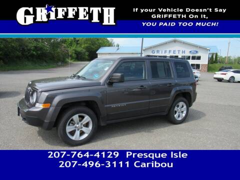 2016 Jeep Patriot for sale at Griffeth Mitsubishi - Pre-owned in Caribou ME