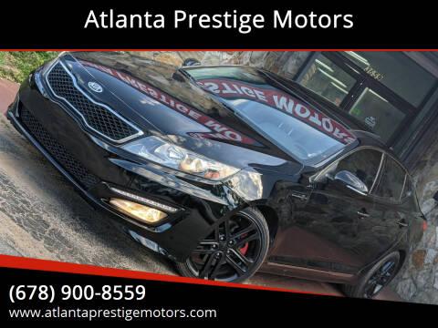2013 Kia Optima for sale at Atlanta Prestige Motors in Decatur GA