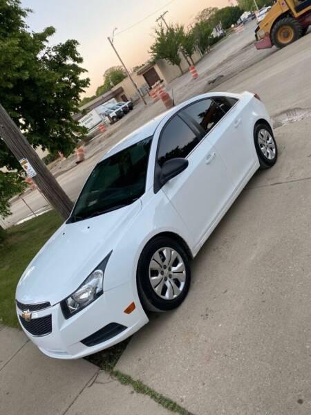 2012 Chevrolet Cruze for sale at Zs Auto Sales in Kenosha WI