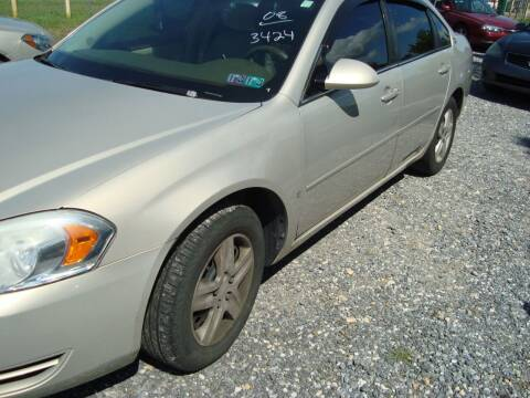 2008 Chevrolet Impala for sale at Branch Avenue Auto Auction in Clinton MD