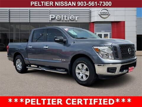 2019 Nissan Titan for sale at TEX TYLER Autos Cars Trucks SUV Sales in Tyler TX