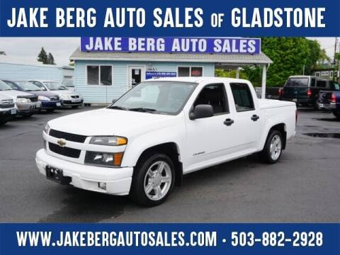 2005 Chevrolet Colorado for sale at Jake Berg Auto Sales in Gladstone OR