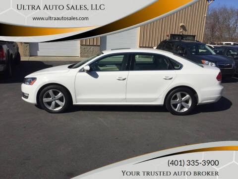 2013 Volkswagen Passat for sale at Ultra Auto Sales, LLC in Cumberland RI