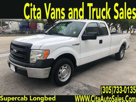 2014 Ford F-150 for sale at Cita Auto Sales in Medley FL