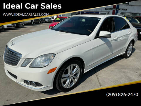 2011 Mercedes-Benz E-Class for sale at Ideal Car Sales in Los Banos CA