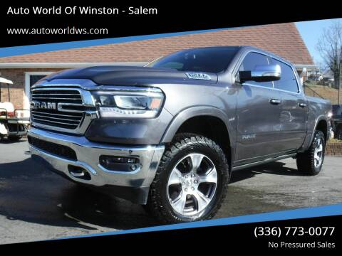 2019 RAM Ram Pickup 1500 for sale at Auto World Of Winston - Salem in Winston Salem NC
