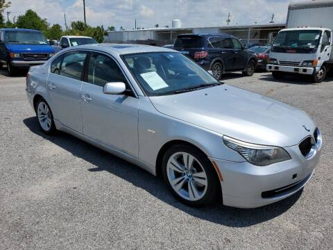 2010 BMW 5 Series for sale at Jamrock Auto Sales of Panama City in Panama City FL