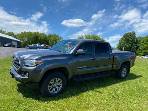 2018 Toyota Tacoma for sale at Riverside Motors in Glenfield NY