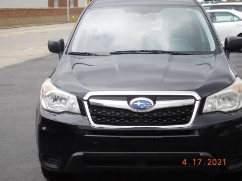 2014 Subaru Forester for sale at Southbridge Street Auto Sales in Worcester MA