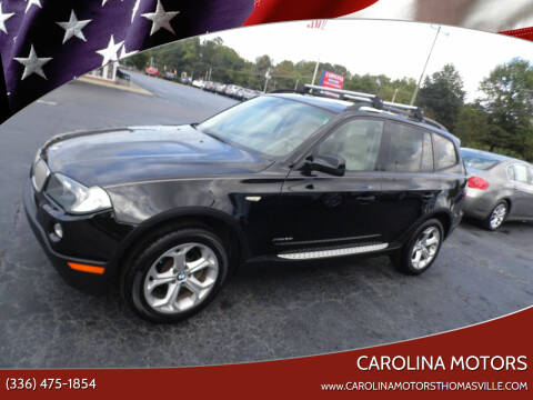 2009 BMW X3 for sale at CAROLINA MOTORS in Thomasville NC