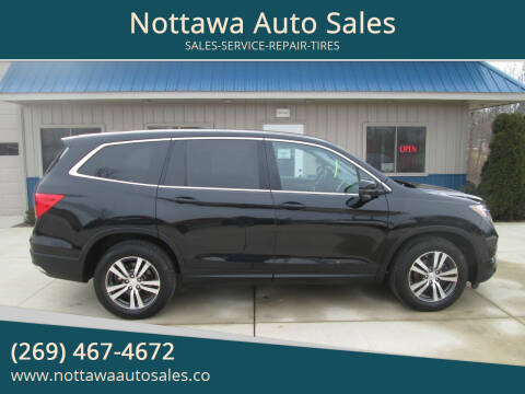 2016 Honda Pilot for sale at Nottawa Auto Sales in Nottawa MI