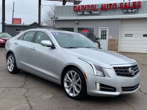 2013 Cadillac ATS for sale at Capitol Auto Sales in Lansing MI