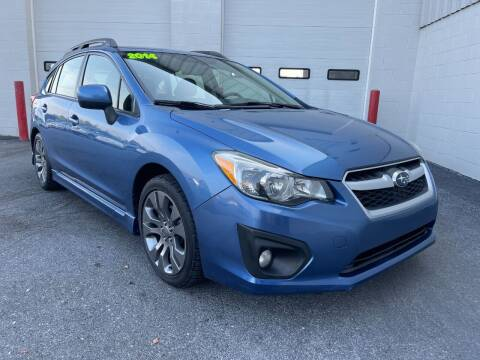 2014 Subaru Impreza for sale at Zimmerman's Automotive in Mechanicsburg PA