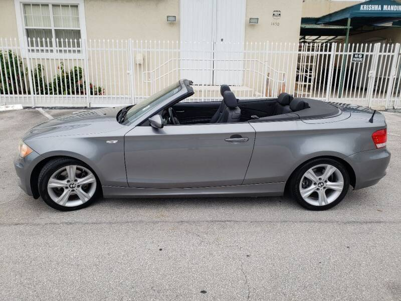 2009 BMW 1 Series for sale at UNITED AUTO BROKERS in Hollywood FL