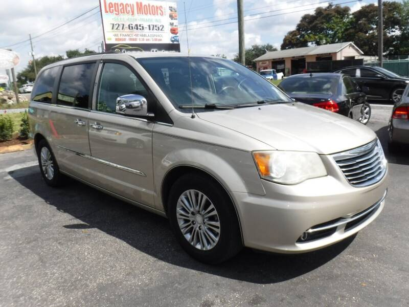 2013 Chrysler Town and Country for sale at LEGACY MOTORS INC in New Port Richey FL