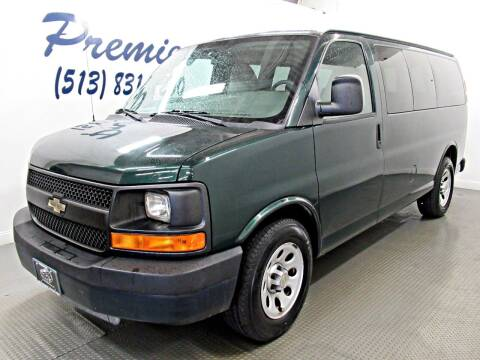 2012 Chevrolet Express Passenger for sale at Premier Automotive Group in Milford OH