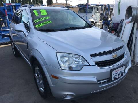 2013 Chevrolet Captiva Sport for sale at CAR GENERATION CENTER, INC. in Los Angeles CA