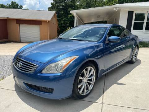 2008 Infiniti G37 for sale at Efficiency Auto Buyers in Milton GA