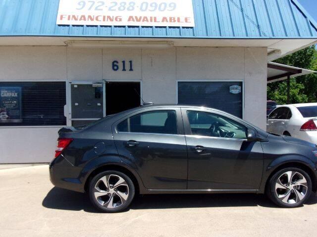 2018 Chevrolet Sonic for sale at MESQUITE AUTOPLEX in Mesquite TX