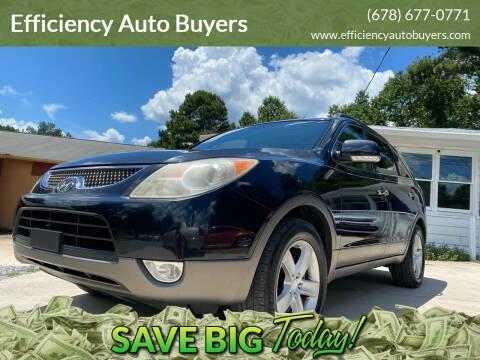 2008 Hyundai Veracruz for sale at Efficiency Auto Buyers in Milton GA