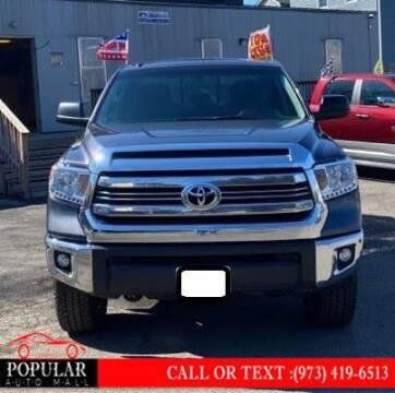2016 Toyota Tundra for sale at Popular Auto Mall Inc in Newark NJ