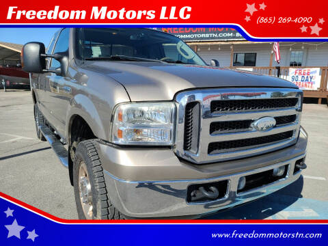 2005 Ford F-250 Super Duty for sale at Freedom Motors LLC in Knoxville TN