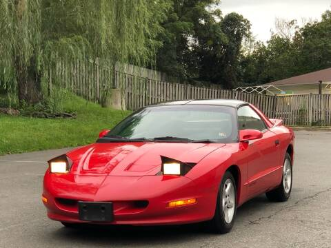1997 Pontiac Firebird for sale at Diamond Automobile Exchange in Woodbridge VA