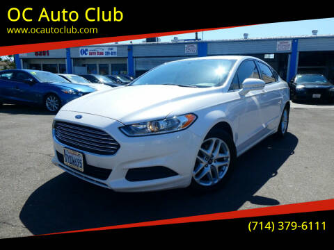 2014 Ford Fusion for sale at OC Auto Club in Midway City CA