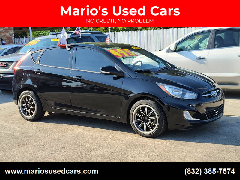 2013 Hyundai Accent for sale at Mario's Used Cars - South Houston Location in South Houston TX
