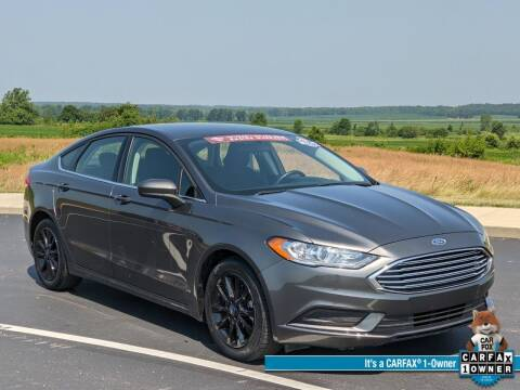 2018 Ford Fusion for sale at Bob Walters Linton Motors in Linton IN