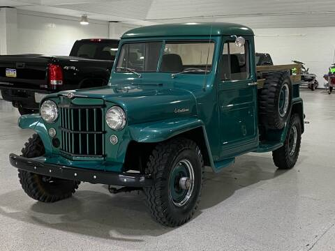 1957 Willys Jeep for sale at Hamilton Automotive in North Huntingdon PA