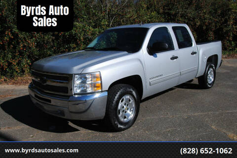 2012 Chevrolet Silverado 1500 for sale at Byrds Auto Sales in Marion NC