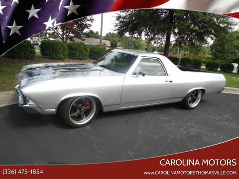 1969 Chevrolet El Camino for sale at CAROLINA MOTORS - Carolina Classics & More-Thomasville in Thomasville NC
