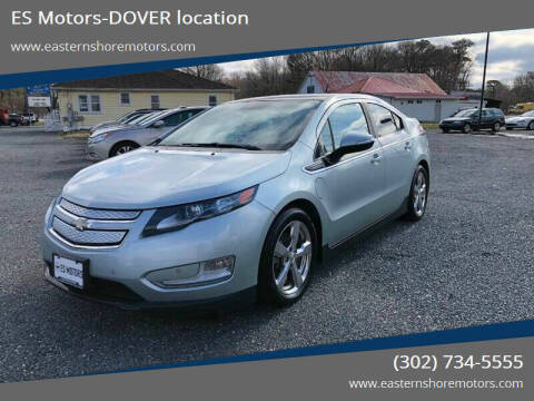 2011 Chevrolet Volt for sale at ES Motors-DAGSBORO location - Dover in Dover DE