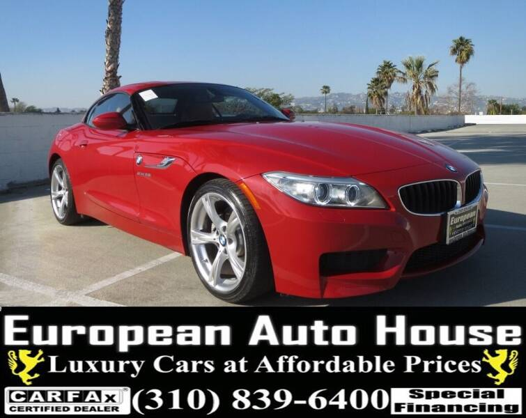 2014 BMW Z4 for sale at European Auto House in Los Angeles CA