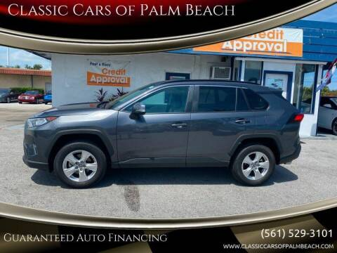 2020 Toyota RAV4 for sale at Classic Cars of Palm Beach in Jupiter FL