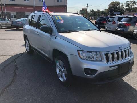 2012 Jeep Compass for sale at M & J Auto Sales in Attleboro MA