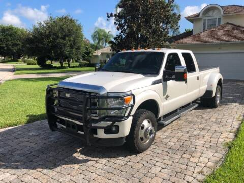2015 Ford F-350 Super Duty for sale at AUTOSPORT in Wellington FL