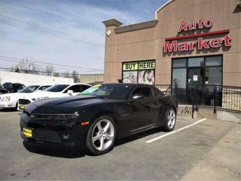 2015 Chevrolet Camaro for sale at Auto Market in Oklahoma City OK