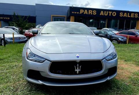 2015 Maserati Ghibli for sale at Pars Auto Sales Inc in Stone Mountain GA