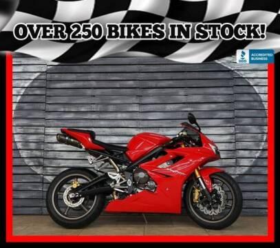 2007 Triumph Daytona 675 for sale at Motomaxcycles.com in Mesa AZ