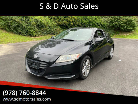 2012 Honda CR-Z for sale at S & D Auto Sales in Maynard MA